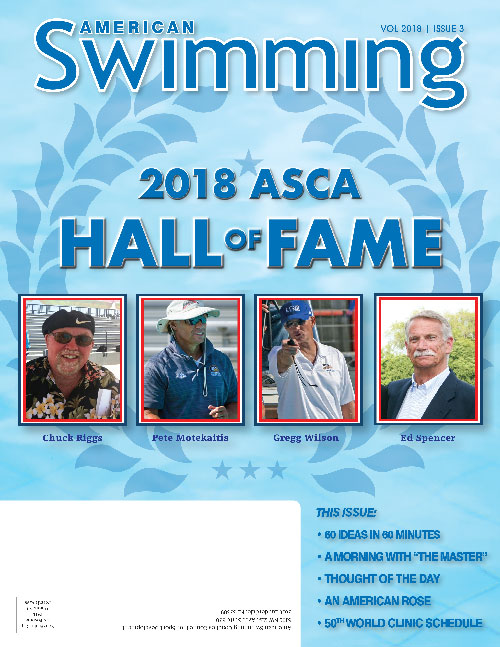 American Swimming Magazine - 2018 Edition 3